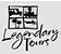 LT logo white