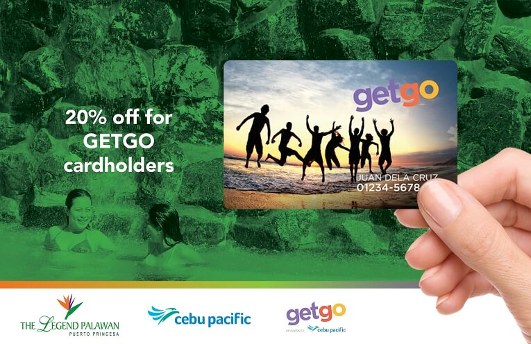 Exclusive discounts for Cebu Pacific GETGO cardholders: 20% discount on all room categories, based on published rates. 10% discount on a la carte orders at Tanglaw Restaurant