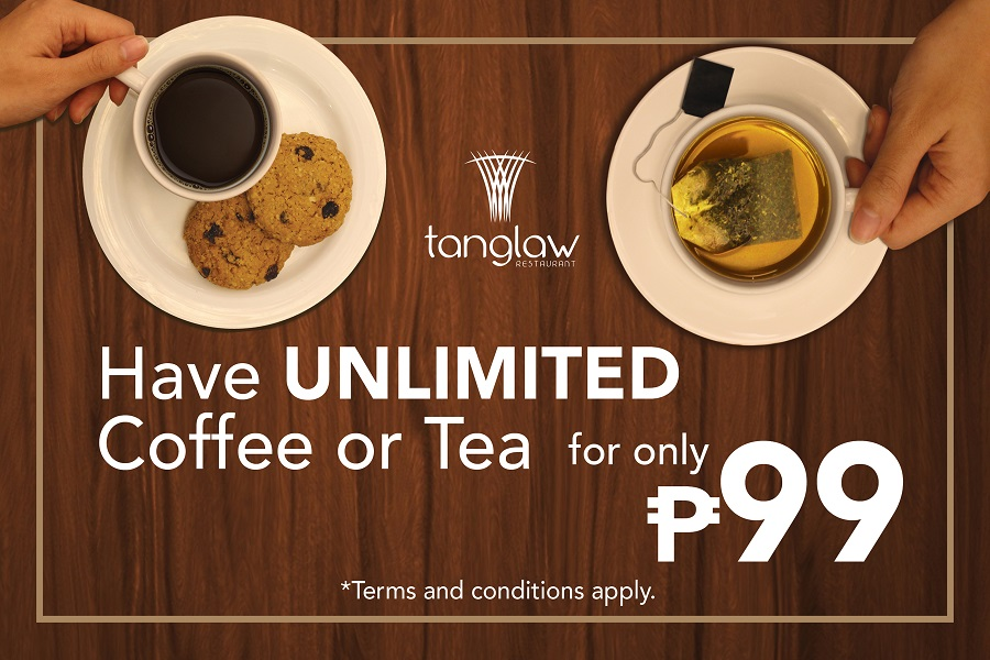 Have UNLIMITED coffee or tea