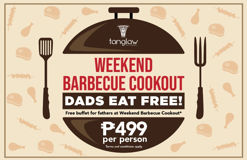 Father's Day Barbecue Cookout