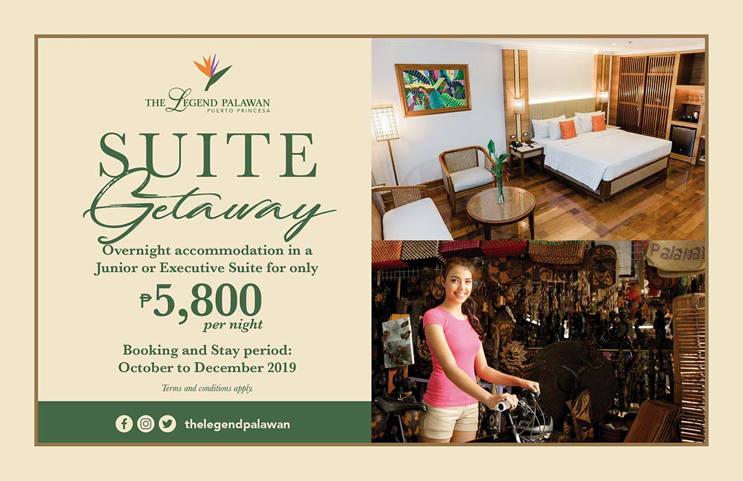 Suite Getaway with City Tour