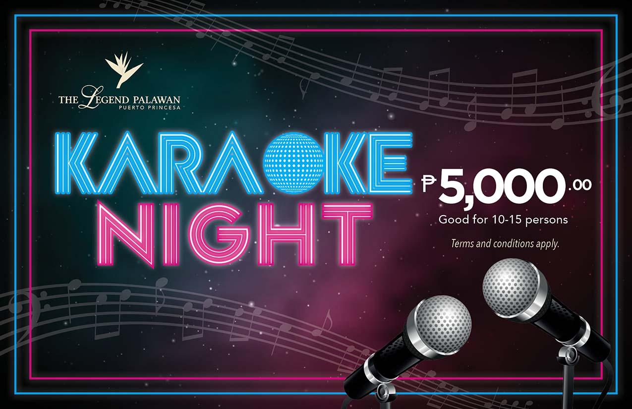 Karaoke Night Party Package